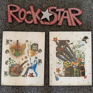 Rockstar Wall Decoration for Sale in Wylie, TX