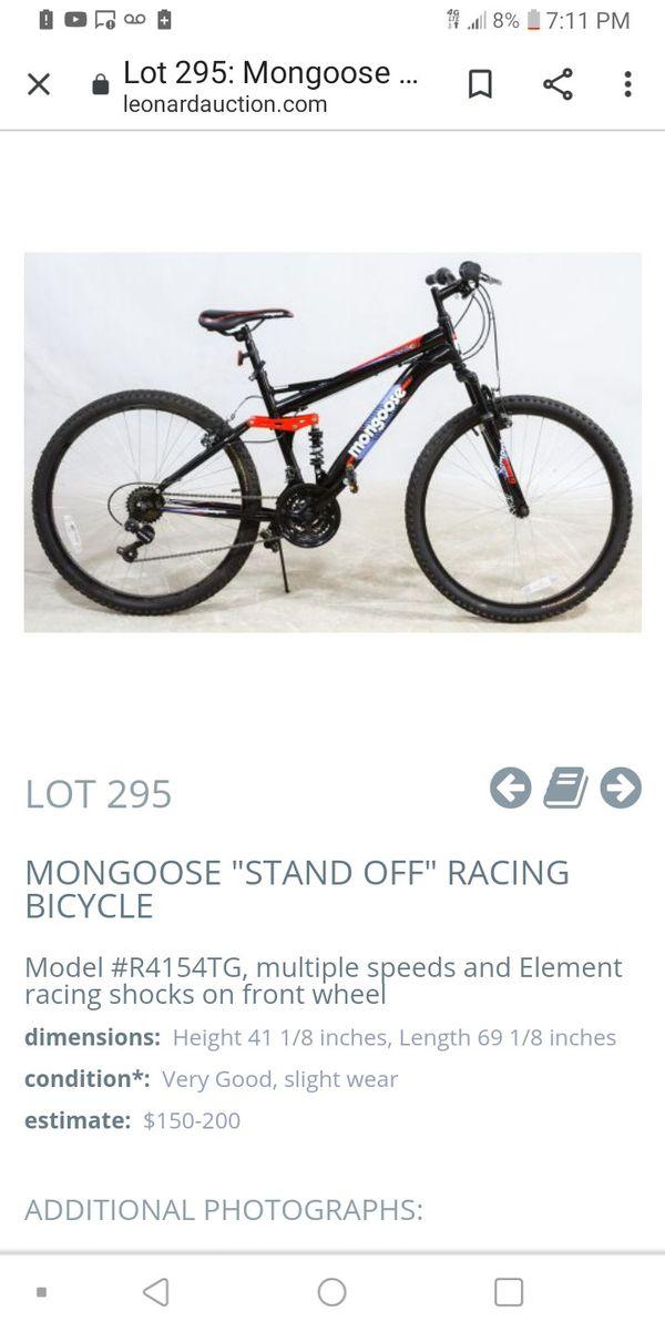 Mongoose racing bike
