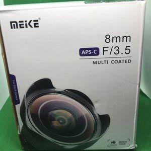Meike Fisheye Lens for Nikon F-mount for Sale in South El Monte, CA