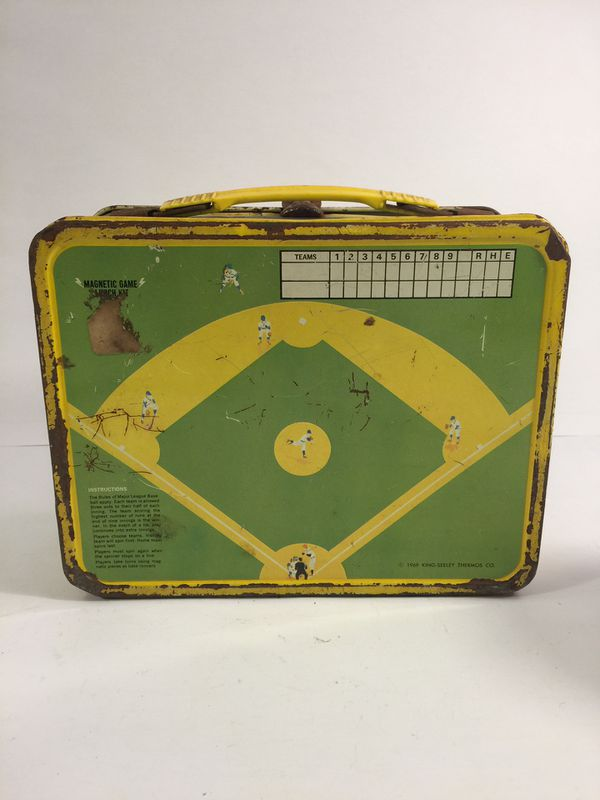 Playball Lunchbox With Thermos