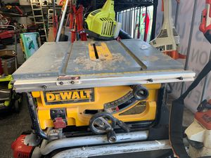 DeWalt DWE7480 Portable Table Saw for Sale in Columbus, OH