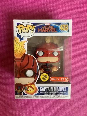 Captain Marvel Exclusive Target GITD Funko Pop for Sale in Ontario, CA