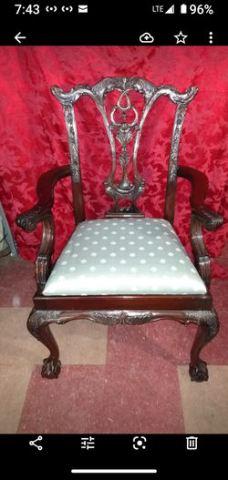 Antique Chippendale Reproduction Chair for Sale in Hanover,  MD