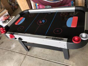 Sportscraft Turbo Electric Air hockey table for Sale in Meadow Vista, CA