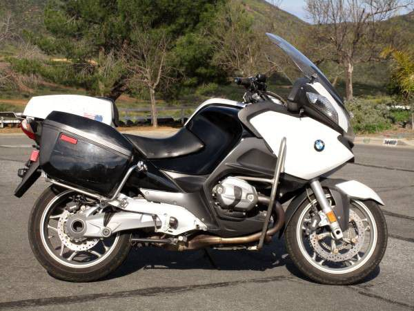 2013 BMW R1200RTP POLICE MOTORCYCLE 62K MILES MINT CONDITION