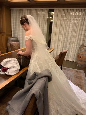 Wedding dress size 12 for Sale in Bellaire, TX