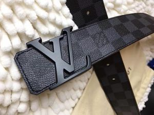 Brand New Authentic Louis Vuitton Graphite Damier 40mm belt (All sizes are now available 90cm - 105cm) for Sale in Valley Stream, NY