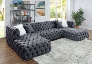 Take Home This Grey Sectional With $39 Down for Sale in Garland, TX