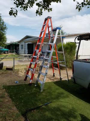 Two step ladders new for Sale in Phoenix, AZ
