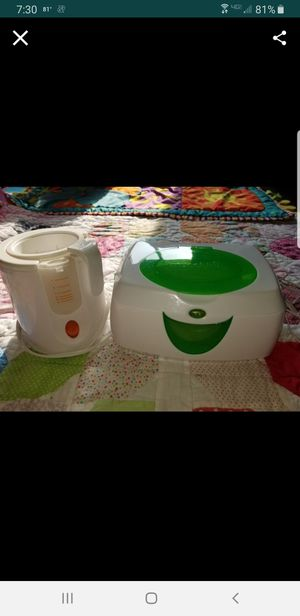 Bottle and wipes warmers for Sale in Grand Island, NE