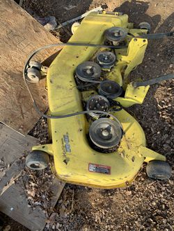 54 In John Deere Deck for Sale in Whitney,  TX