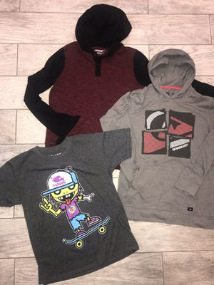 881901b76d7288 TONY HAWK QUIKSILVER Boys Clothing Lot Hoodies T-shirt Large 14 16 for Sale