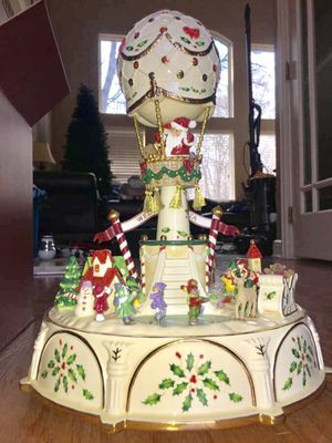 Lenox Balloon Ride Collectible Music Box Holiday Christmas for Sale in New Albany, OH