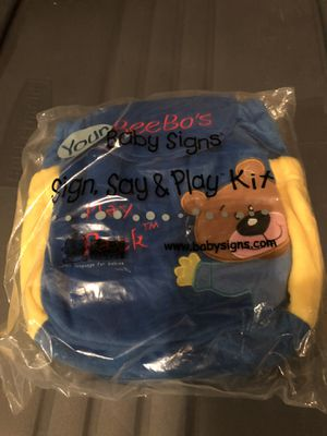 New, unopened Baby Signs play kit for Sale in Fort Belvoir, VA