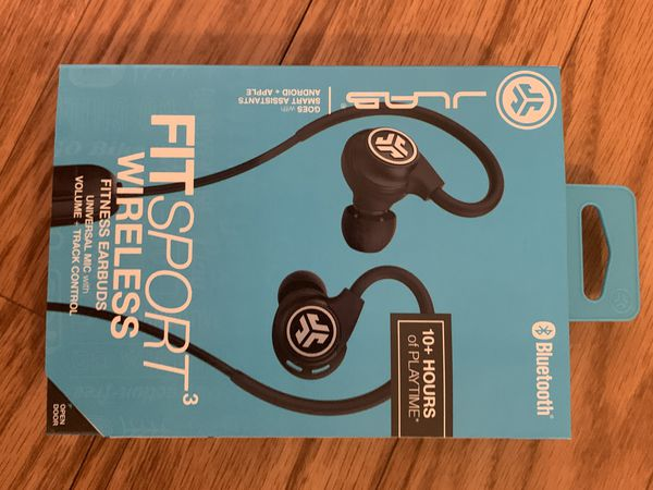 JLab Audio Fit Sport 3 Bluetooth Wireless Fitness Earbuds $30 each
