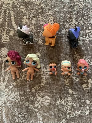 LOL surprise doll lot and pets lil and big sisters RARE included for Sale in Farmington, MI