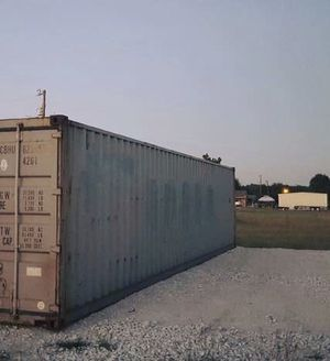 40' SD Used WWT Portable Shipping Boxes for Sale in Oshkosh, WI
