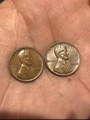 Lot 2 coins: Penny's 1960 for Sale in Los Angeles, CA