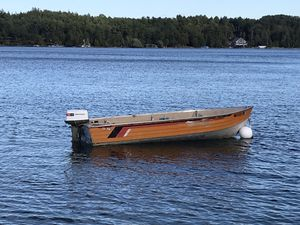 14ft Mirocraft w/ 20hp Johnson sea horse motor for Sale in Charlevoix, MI