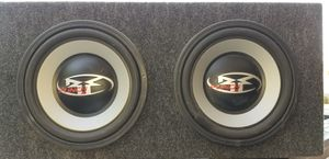 Rockford Fosgate Punch speakers and box for Sale in Sun City, AZ