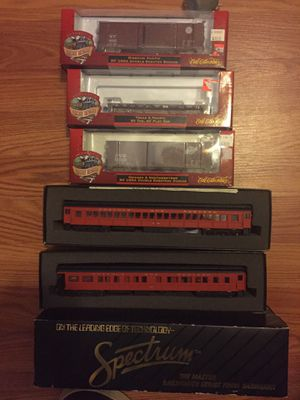 Spectrum and ertl collectibles train wagons for Sale in Sacramento, CA