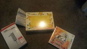 Cant Get a Nintendo Switch?? No worries this, 3ds XL pikachu package will hold the kids over till than. 300 obo for Sale in Parkville, MD