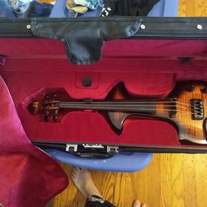 Electric Violin with case and bow for Sale in Mount Ephraim, NJ