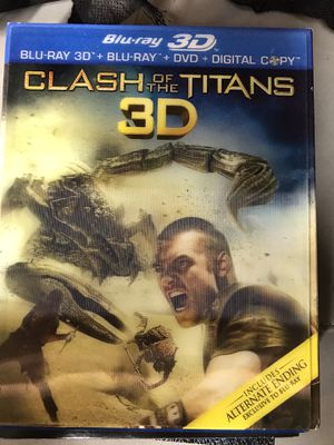 Blu-Ray Clash of the Titans 3-D available for Sale in Los Angeles, CA