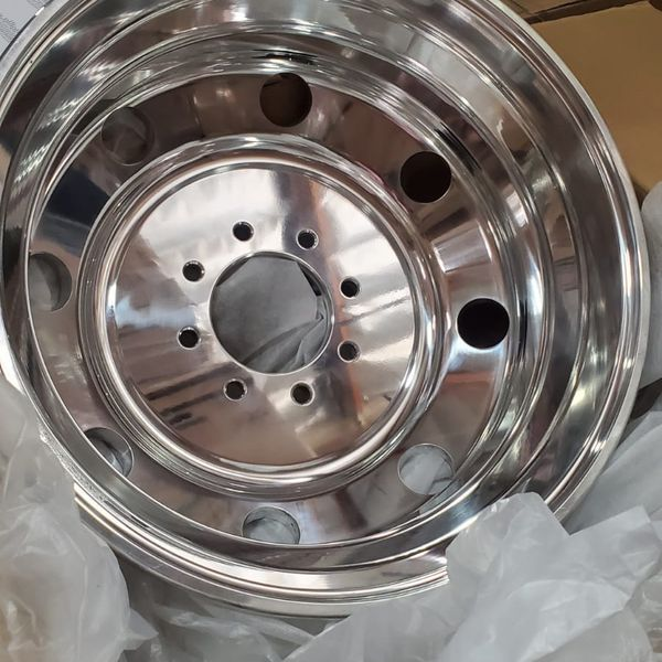 19.5x6 8x6.5 Direct Bolt On (Forged Aluminum)