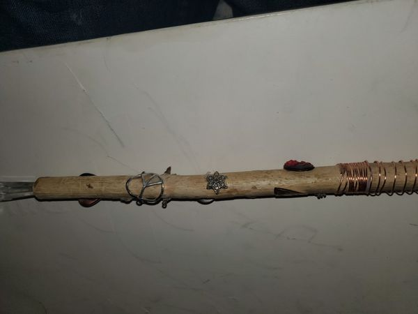 Homemade healing wands