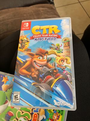 CTR Nitro Fueled Nintendo SWITCH game for Sale in Fontana, CA