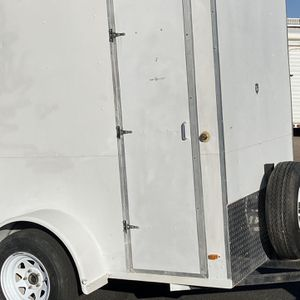 Extra tall 5 X 8 Enclosed Utility Cargo Trailer for Sale in Chandler, AZ