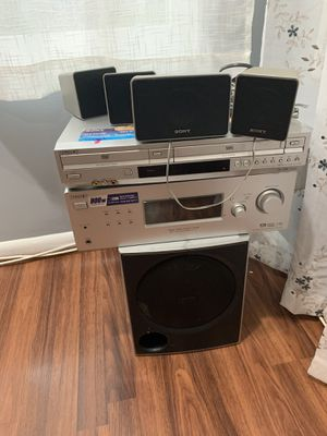 Sony Stereo Receiver, DVD, and VHS Player for Sale in Germantown, MD
