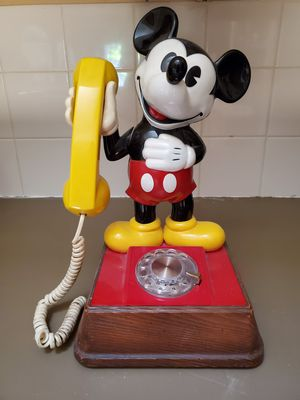 Vintage Disney Mickey Mouse Phone for Sale in Houston, TX