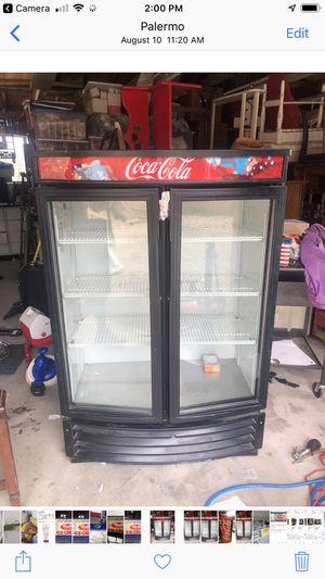 Coca Cola Two Door Refrigerator for Sale in Oroville, CA