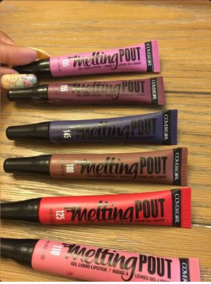 10 COVERGIRL Melting Pout Lip Jelly Gel Liquid Lipstick / Stain for Sale in Essex, MD