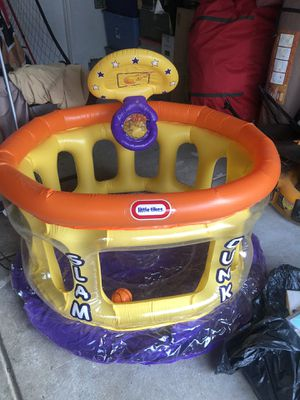 Kids toy bin and bounce for Sale in Charlotte, NC