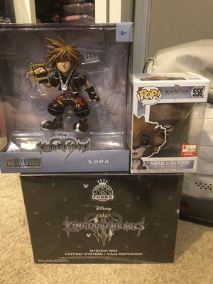Kingdom Hearts Collectibles (Funko etc) Read Description for Sale in Brooklyn Park, MD