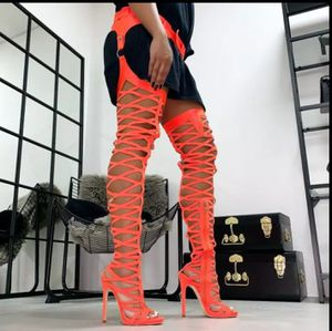 Sexy Thigh High Gladiator Boots for Sale in Morrow, GA