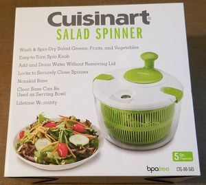 Cuisinart Salad Spinner Brand New for Sale in Three Rivers, MI