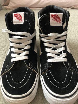 BRAND NEW VANS! black high tops size 8 for Sale in Sun City, AZ