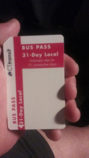 Bus pass for Sale in Hartford, CT