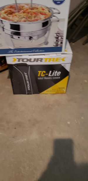 TourTrek gold bag cover for Sale in Overland Park, KS
