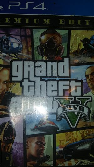 GTA 5 FOR PS4 for Sale in NORTH PRINCE GEORGE, VA
