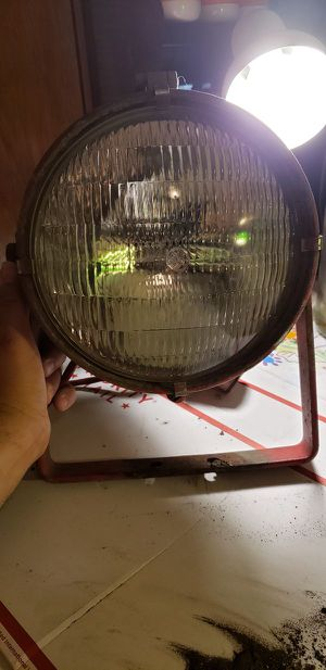 Antique Fire Engine Search Light- General Electric and Stonco Electric marked for Sale in Lorain, OH
