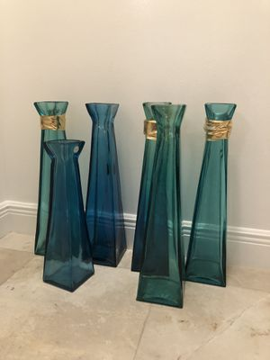 GLASS VASES for Sale in SUNNY ISL BCH, FL