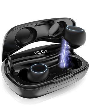 Brand new True Wireless Earbuds, Bluetooth 5.0 Wireless Earphones in-Ear 3D Stereo Wireless Headphones IPX7 Waterproof Bluetooth Earbuds Mic 60H Play for Sale in Dallas, TX