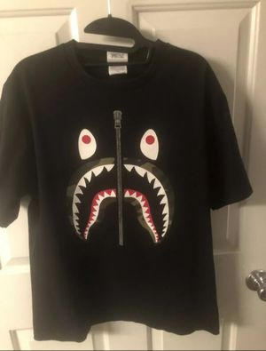 NWT Bape Shark Tee With Reciept for Sale in Albuquerque, NM