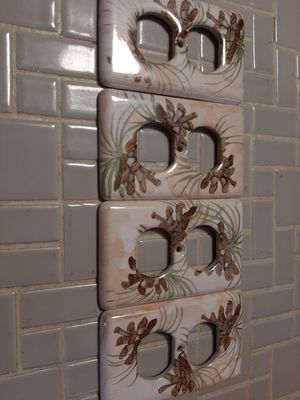 Decorative Electric Plate Covers for Sale in Endicott, NY