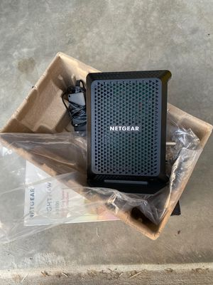 Netgear CM700 cable modem DOCSIS 3.0 -SALE this weekend only for Sale in Manteca, CA